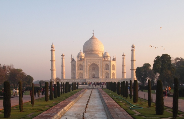 the fabulous Taj Mahal