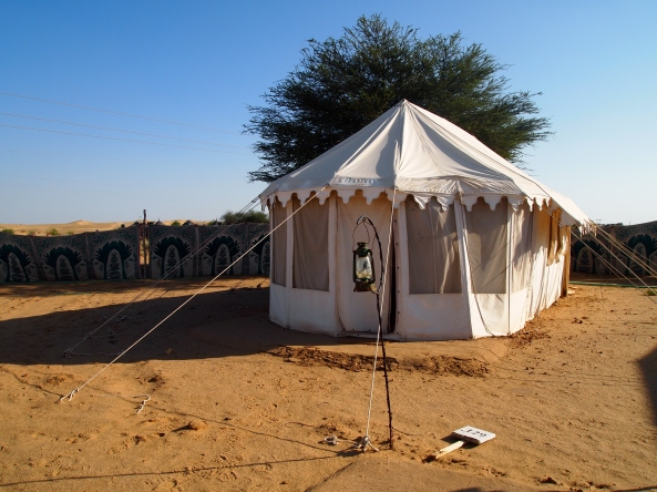 our tent at Royal Desert Camp