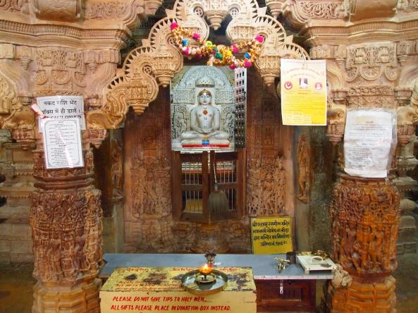 offerings in the Jain Temple