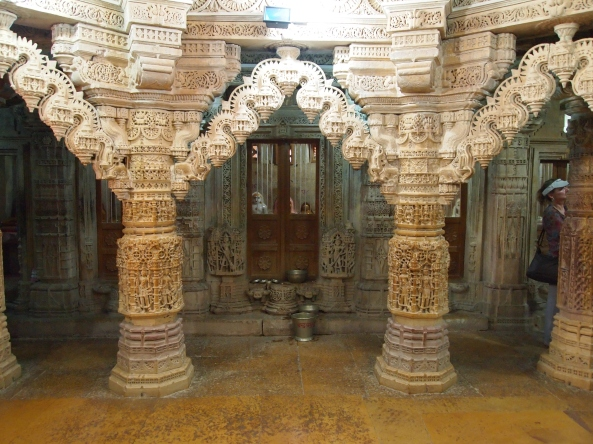 inside the Jain Temple