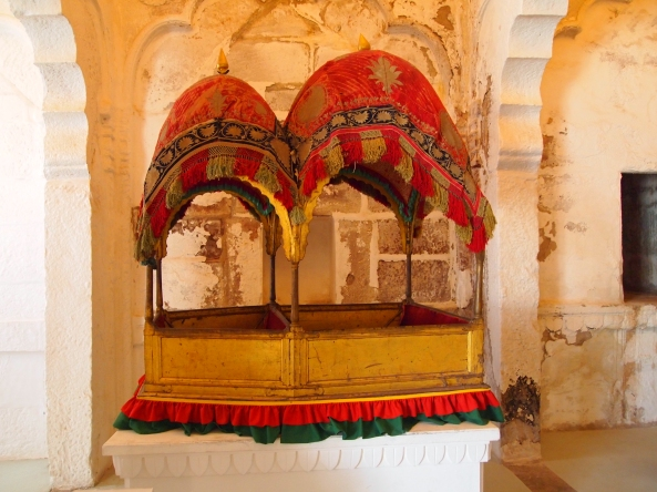 elephant carrier at Mehrangarh Fort