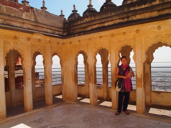 Jayne at Mehrangarh Fort