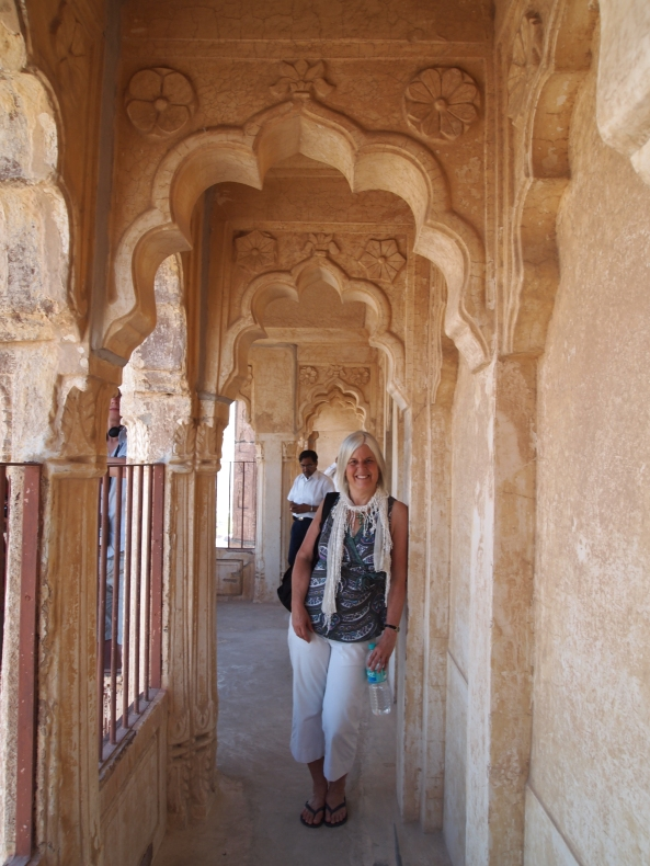 me at Mehrangarh Fort