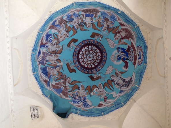 Ceiling in the City Palace