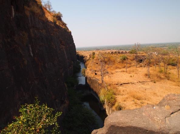 Moat around Daulatabad