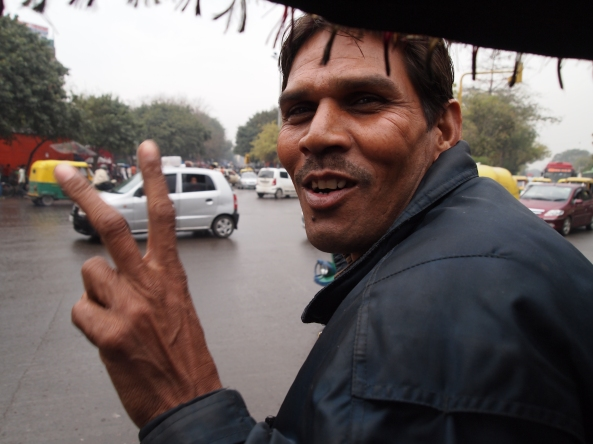 our gregarious rickshaw driver
