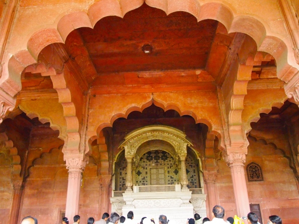 arches in The Red Fort