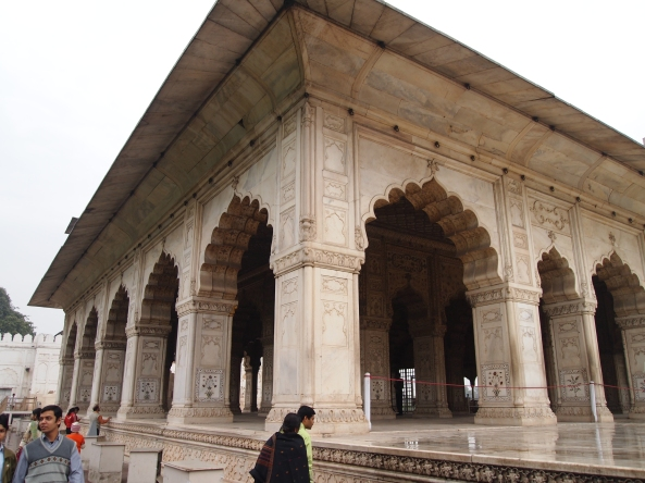 Another pavilion at the Red Fort