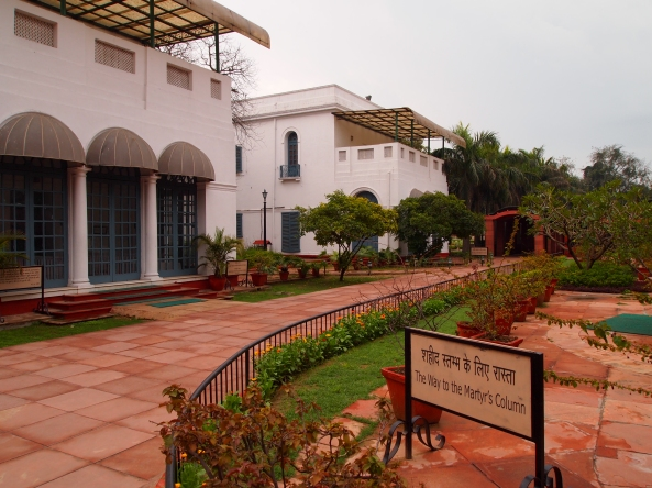 Gandhi Smitri ~ Mahatma Gandhi memorial in Delhi