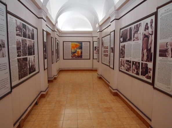 the museum of the Gandhi Memorial