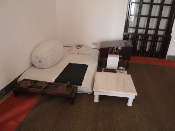 the simple room where gandhi spent his last 144 days