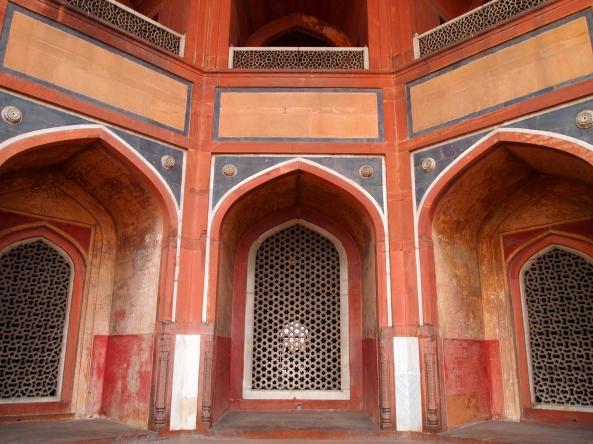 Inside Humayan's Tomb