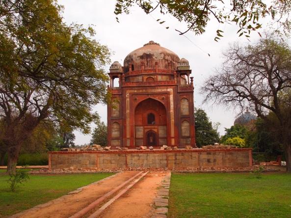 at Humayan's Tomb