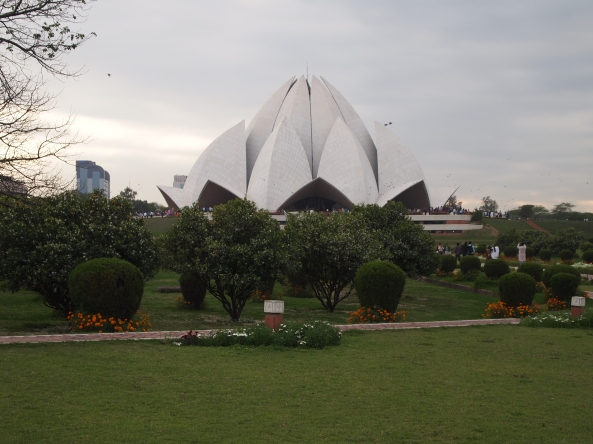the Lotus Temple ~ a rerun for me