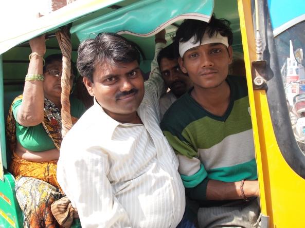 Rickshaws in Varanasi