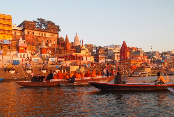 the holy Ganges in Varanasi