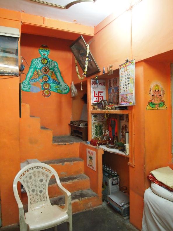 the guru's ashram