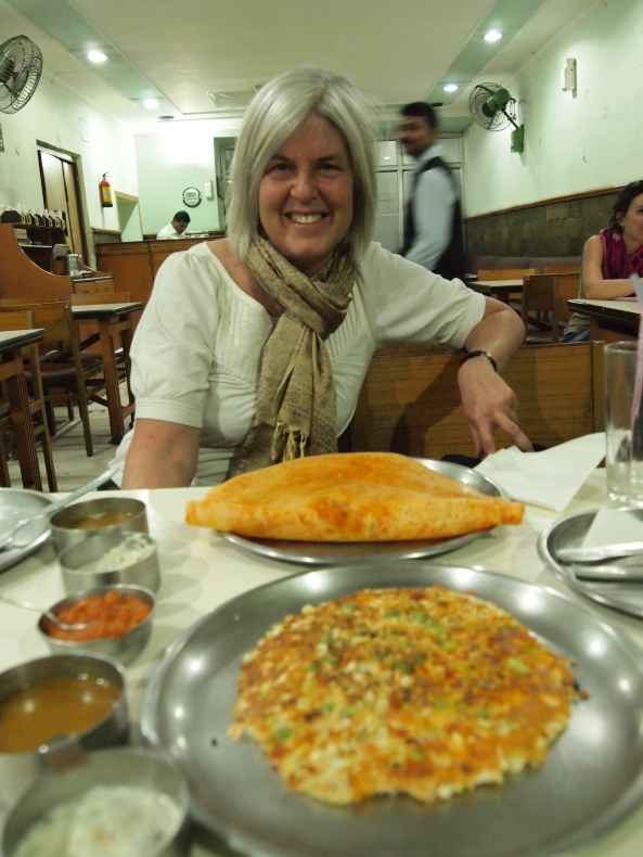 dinner at Lakshmi Vilas in Agra