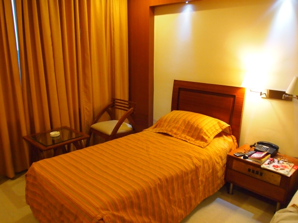 Our shabby room at Hotel Shivalikview