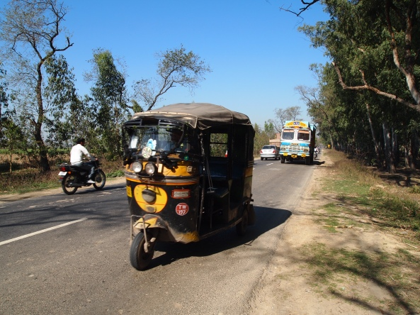 rickshaws....