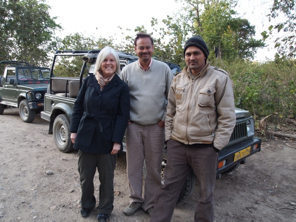 "me, our ""guide"" and his friend ~ no tip for them"