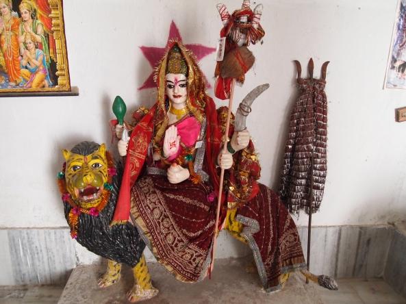 the 6-armed goddess