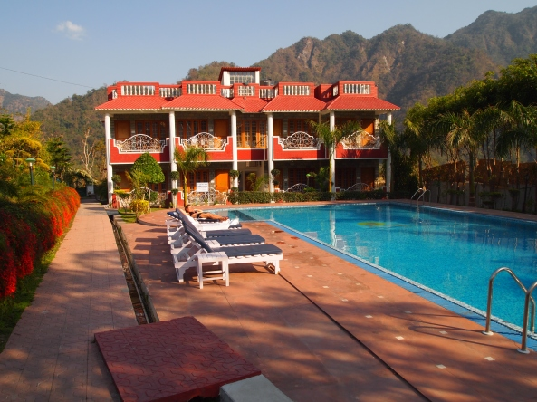 our lovely oasis in rishikesh