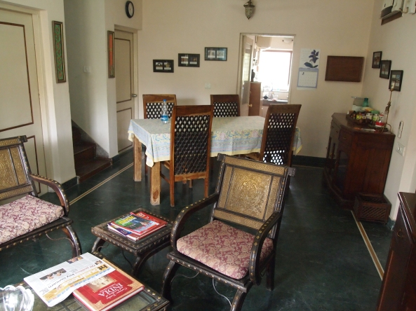 the common room of the chhoti haveli