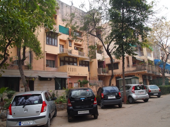 The Chhoti Haveli is in this building in south Delhi