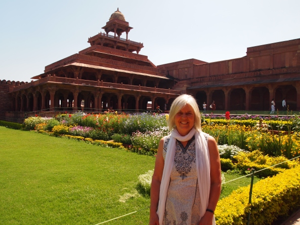 Me, the Ladies Garden and the Panch Mahal