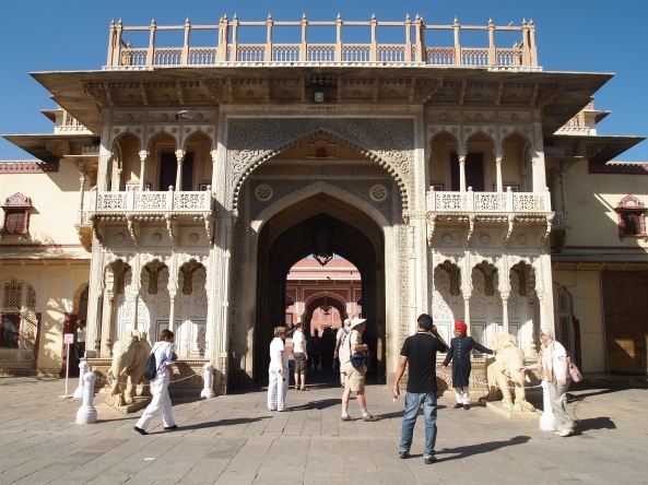 More of the City Palace in Jaipur