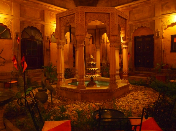 inside the sumptuous Nanchana Haveli