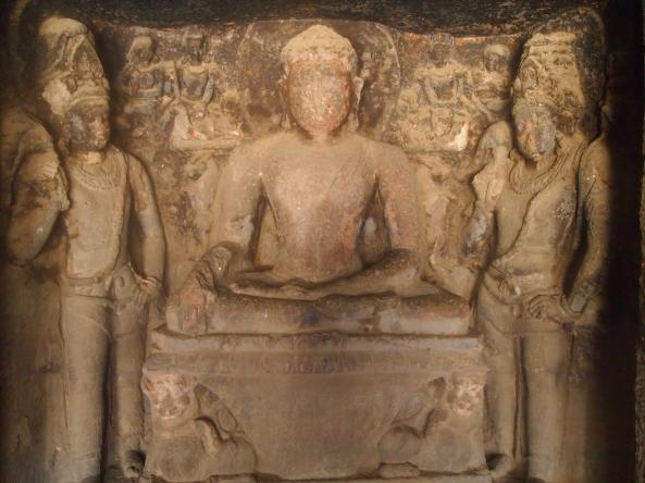 a Buddha in Cave 12