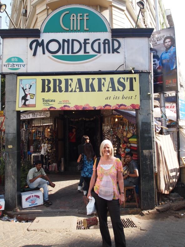 cafe mondegar in Colaba