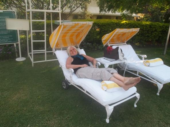an interloper at the Taj Residency Hotel