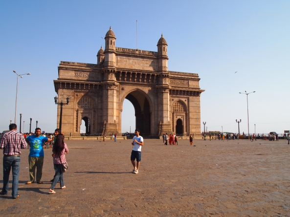 the Gateway of India at Apollo Bunder