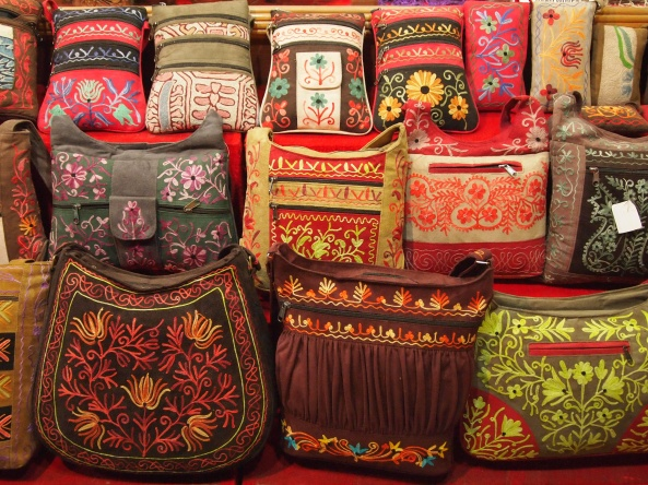 embroidered bags