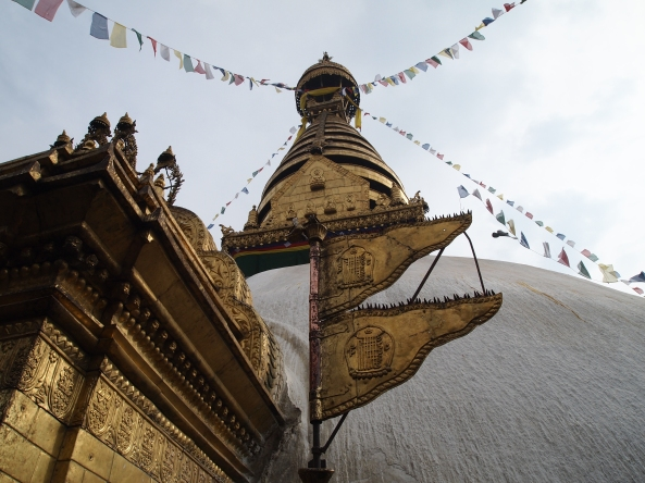 another view of the stupa