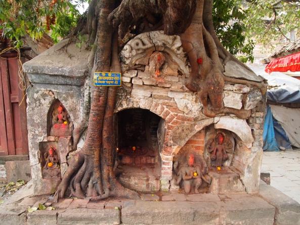 probably a Hindu shrine??