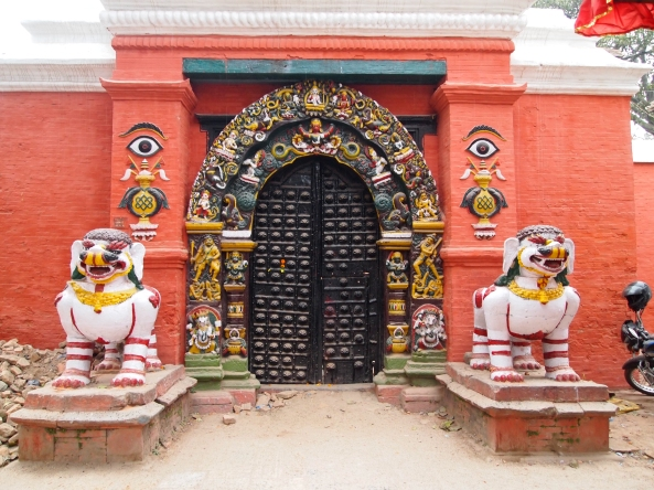 Lion's Gate to Taleju Mandir