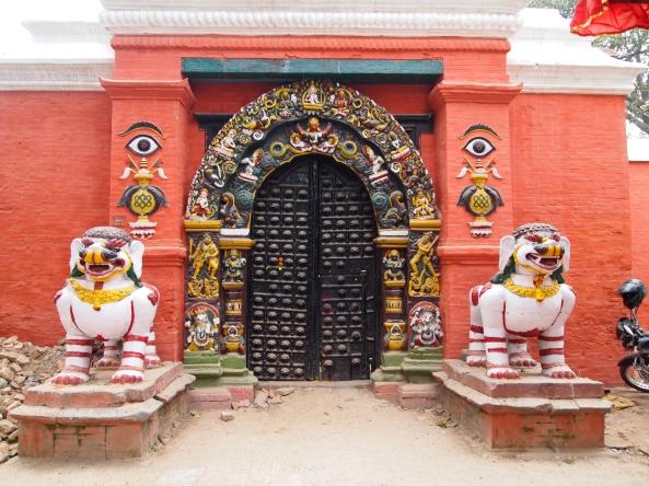 Lion's Gate to Taleju Mandir