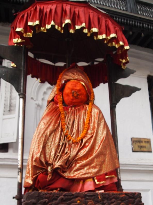 the monkey god Hanuman