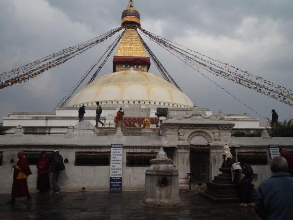 The Boudha Stupa