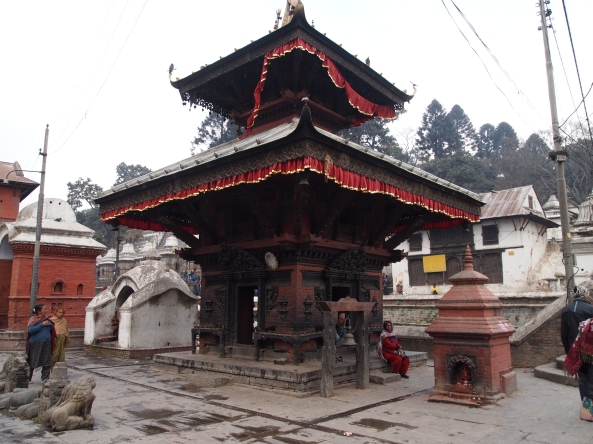 one shrine or temple at Pashupatinath