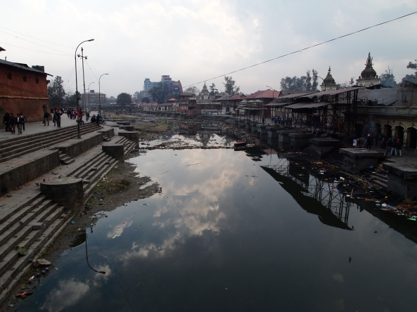 the Bagmati River