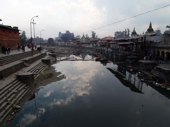 the Bagmati River