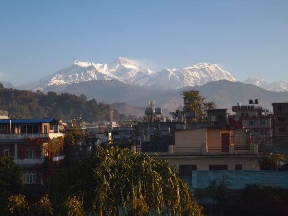 the 8,000 meter + Annapurna and Manaslu Ranges