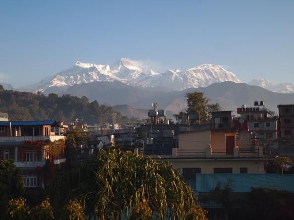 the 8,000 meter + Annapurna and Manaslu Ranges