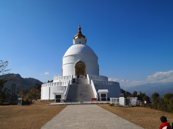 the World Peace Pagoda