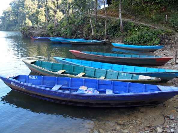 boats to take us back across the lake
